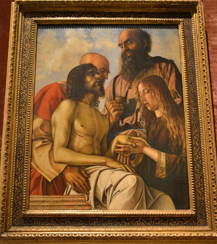 Джованни Беллини - Пьета (Оплакивание Христа)