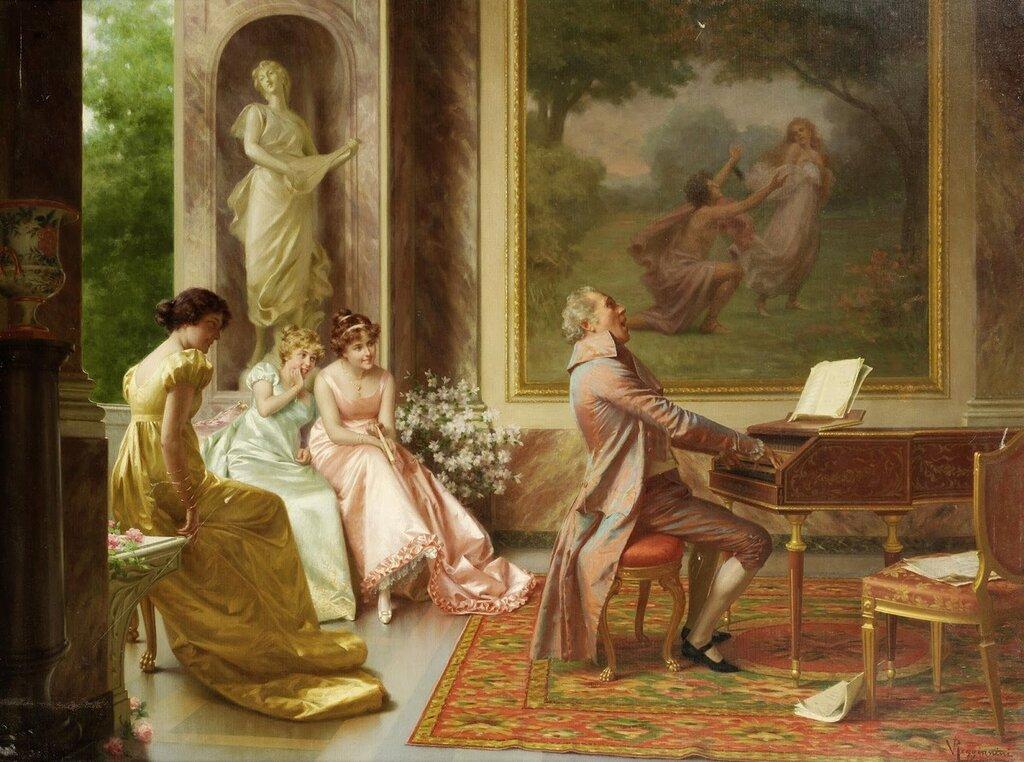 Концерт (The Recital)_76 x 102_х.,м._Частное собрание.jpg