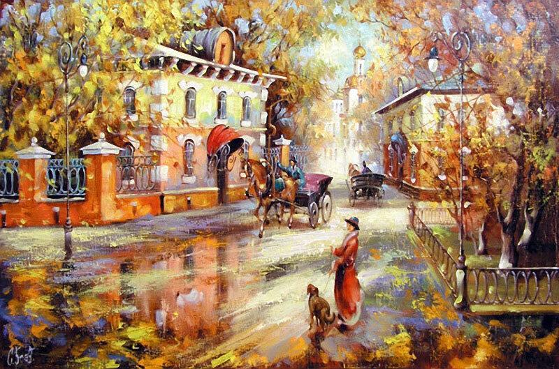 Остановись чудесное мгновение,Живопись художника Боева Сергея Юрьевича.