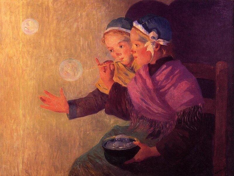 Soap bubbles Ferdinand du Puigaudeau