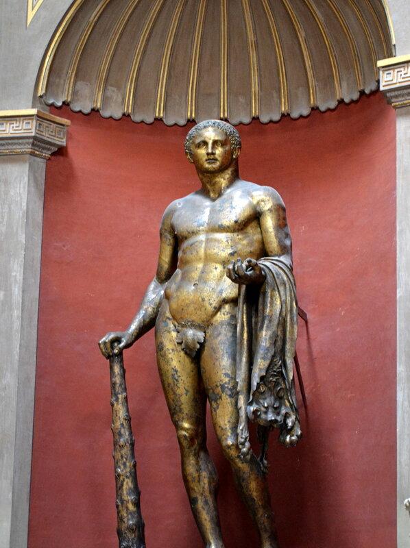 Геркулес со шкурой немейского льва,2 век
