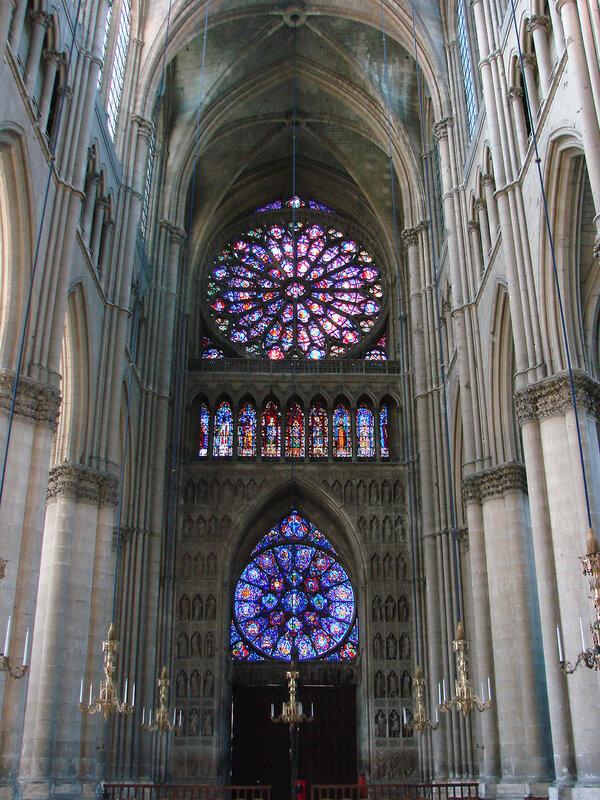 Cathédrale de Reims intérieur