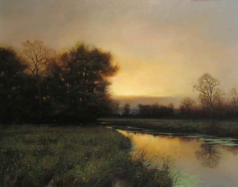 Пусть всегда золотится восход! Пусть всегда пламенеет закат! Художник Renato Muccillo