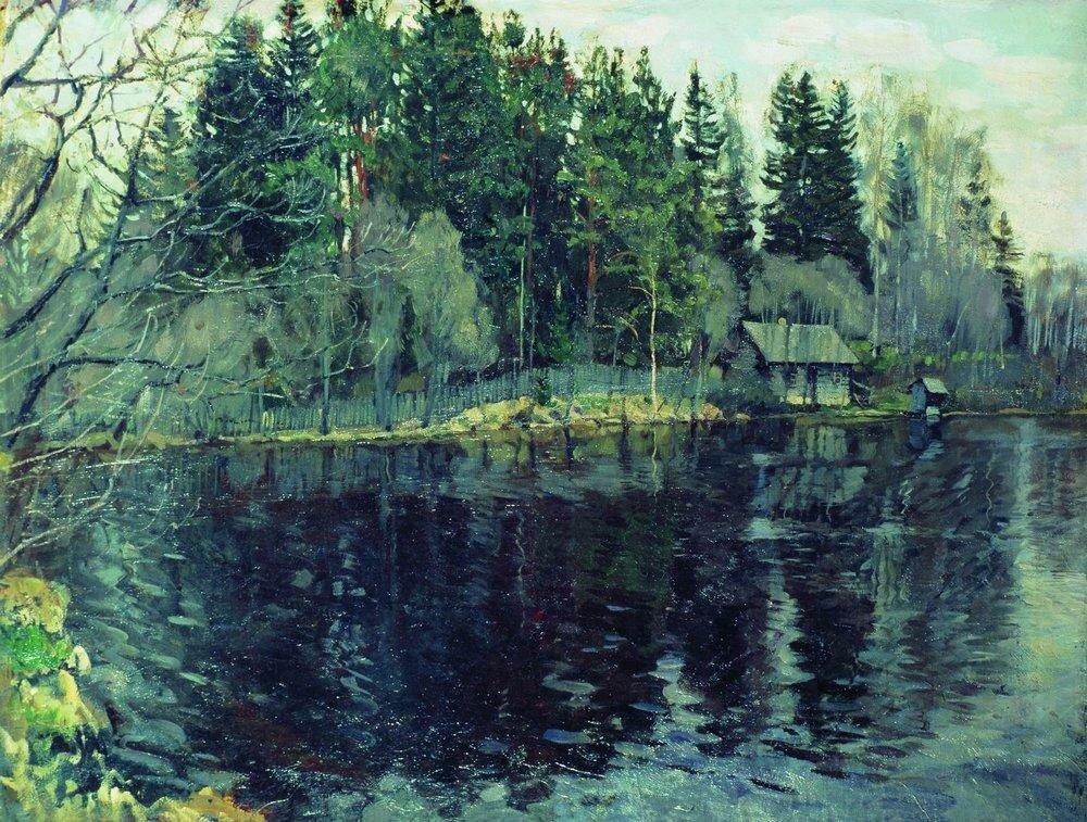 Лесное озеро. 1910.jpg