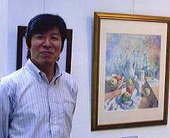Японский художник Ryoyu Fukui