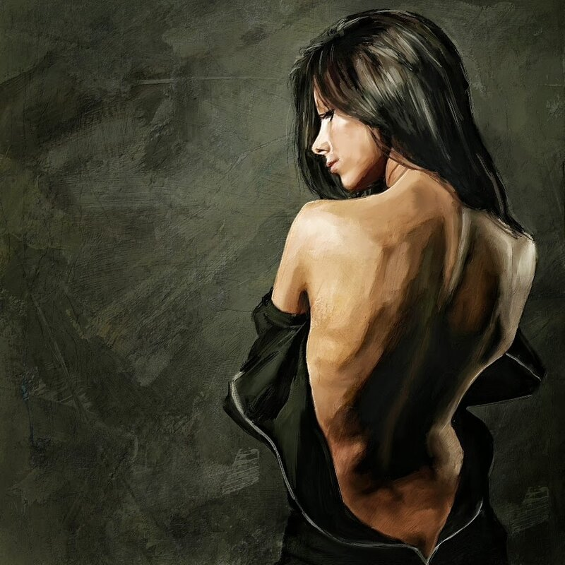 Любите женщину за настроения перемену... Художник Marius Markowski