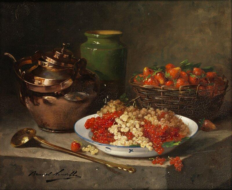 Натюрморт с ягодами и кухонной утварью.jpg