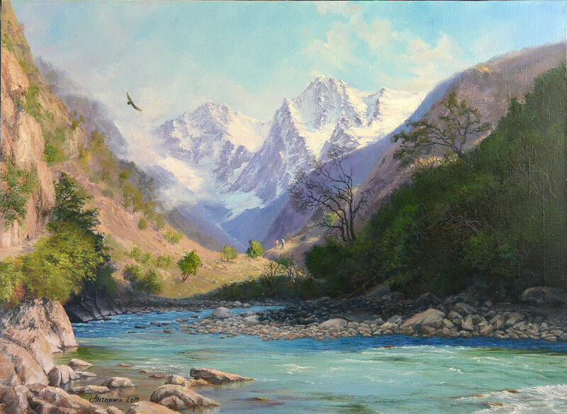 В горах .( вариант-2)