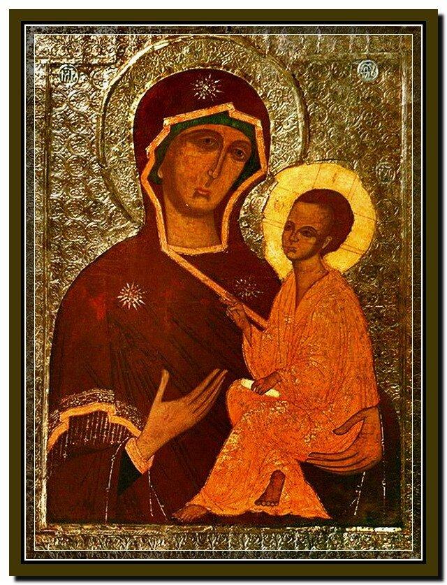 Тихвинская икона Божией Матери.