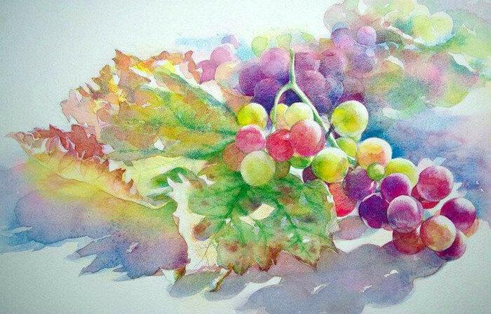 Я достану старенький этюдник, разукрашу утро акварелью... Японский художник Ryoyu Fukui