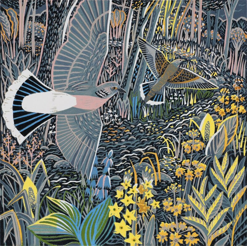 Литографии английской художницы Annie Soudain