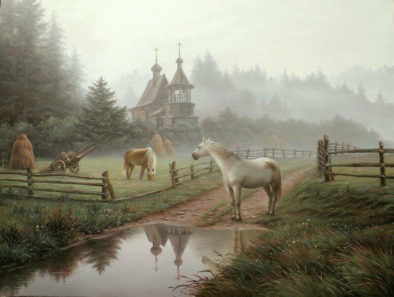 Алексей Сычёв. Утренняя тишина.jpg