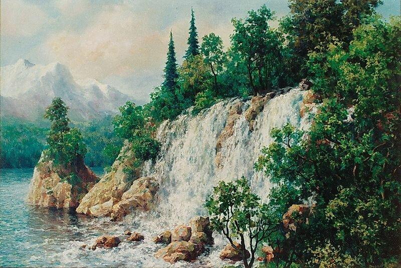 Андрей Огурцов. Водопад.
