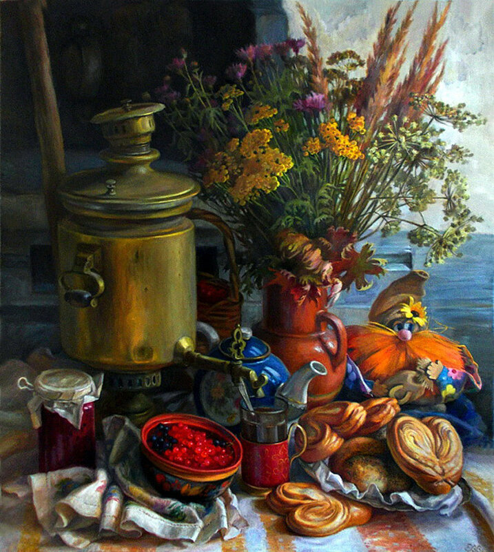Художник Елена Шумакова