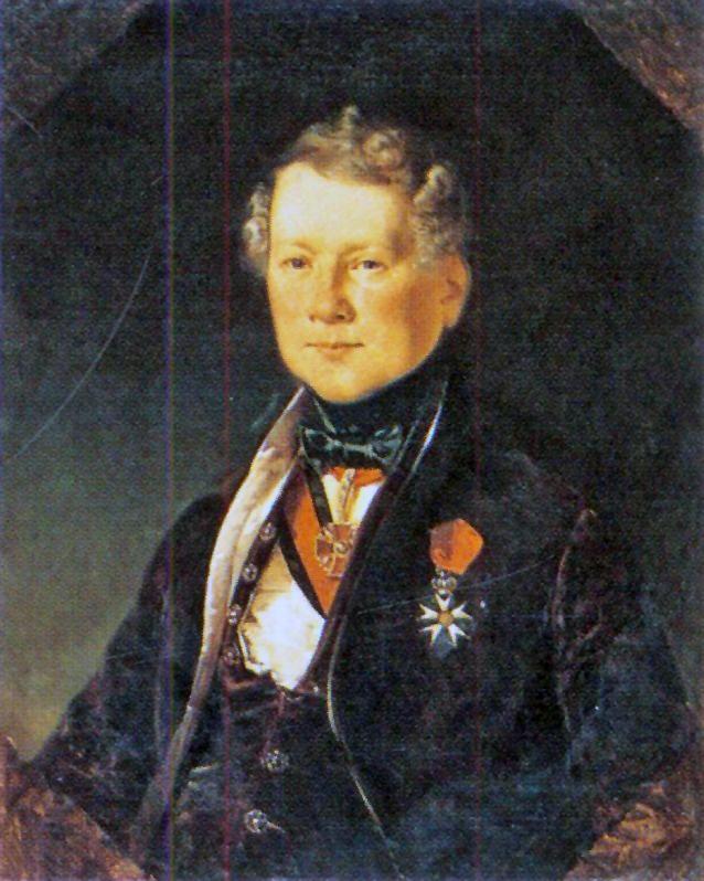 Е. А. Плюшар. Портрет архитектора Монферрана. 1834 год..jpg
