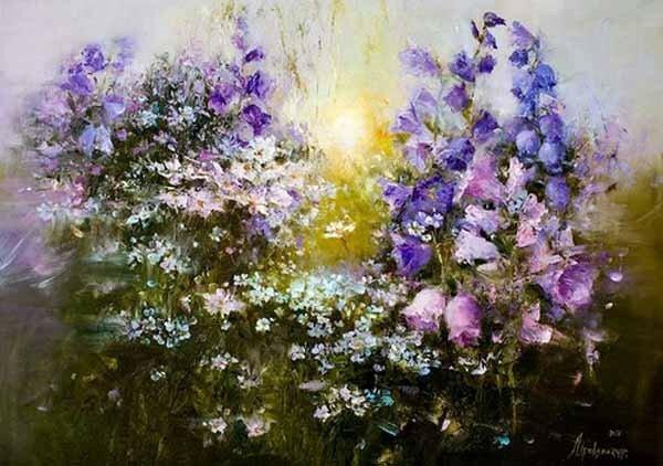 Привалихина Анжелика. Цветы