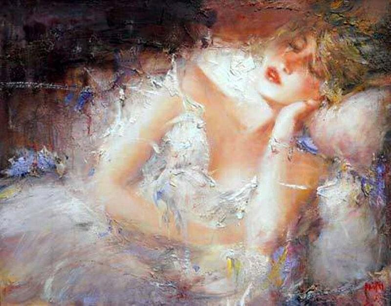 Чужая женщина - загадка для мужчины…Художник Павлов Мстислав