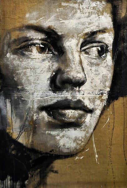 Женский образ - остановленное мгновение. Художник Max Gasparini