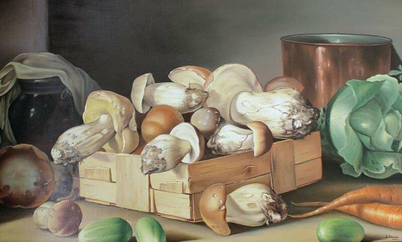Алексей Сычёв. Натюрморт с грибами.jpg