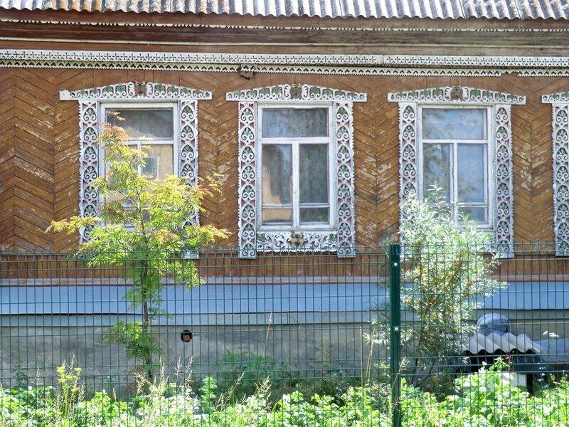 Украшение окна - резные наличники