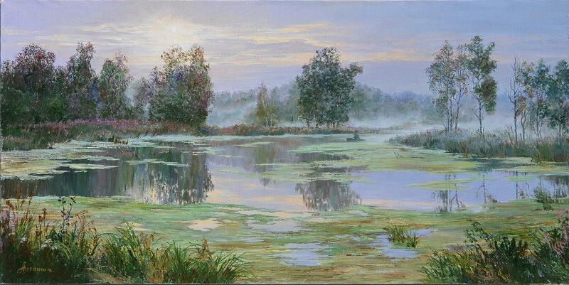 Туманное утро