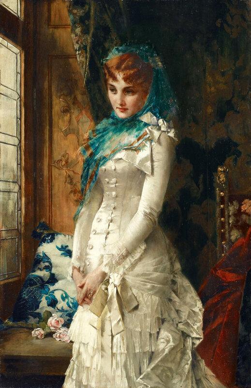 14. Портрет молодой дамы в дорогом платье.jpg