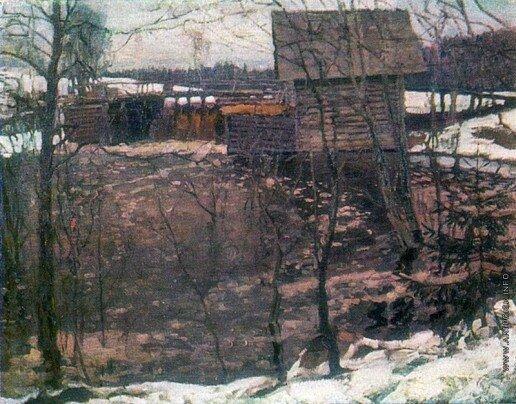 Мельница. 1913