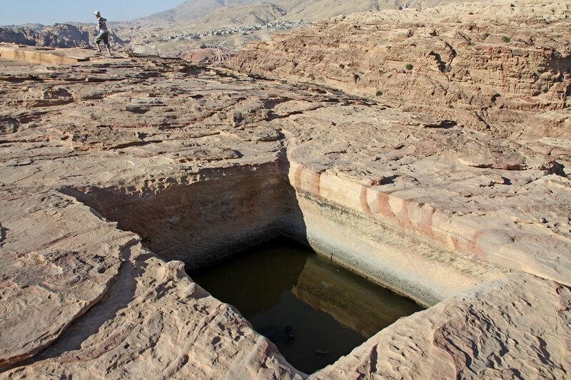 Цистерна для сбора дождевой воды, Джебель Аттуф