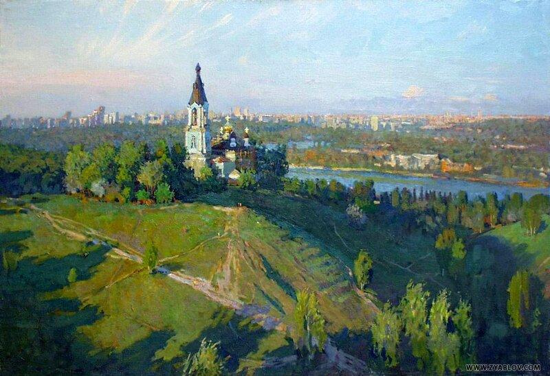 Зяблов Ярослав. Крылатские холмы