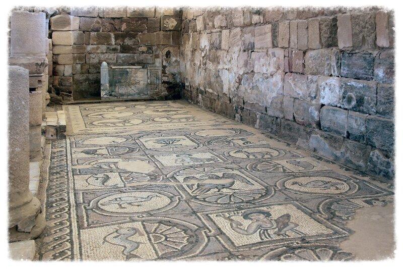 Боковой неф Византийской церкви