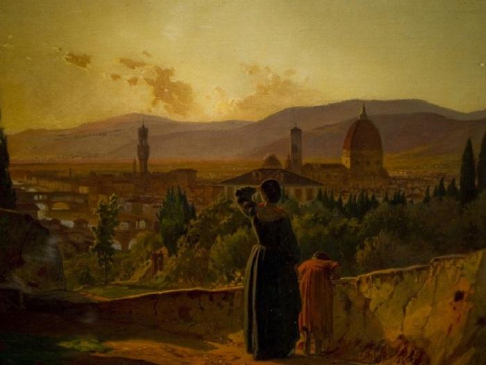 Флоренция. Автор: Николай Ге.