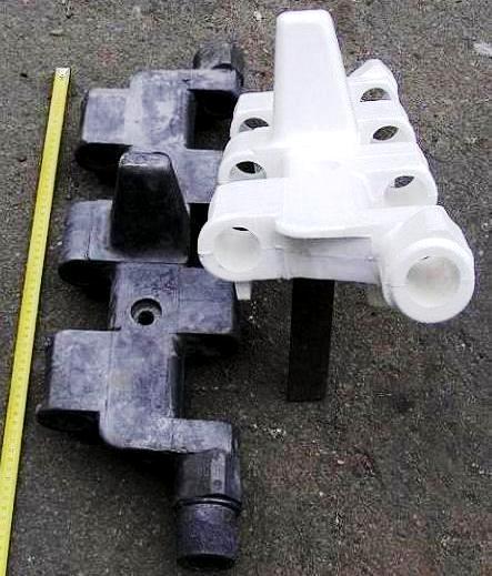 отливки и модели, спеченные в автоклаве - Рис. 3.г Отливки и модели, полученные в пресс-формах