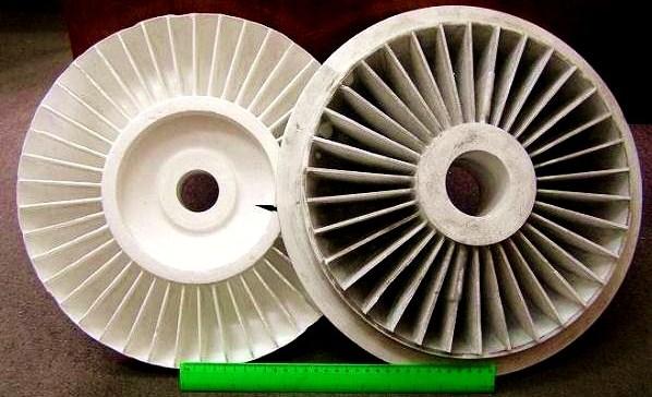 отливки и модели, спеченные в автоклаве - Рис. 3.в Отливки и модели, полученные в пресс-формах