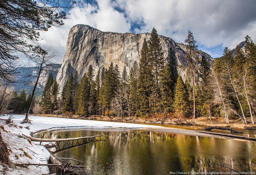 Идеальный парк Йосемити в Калифорнии