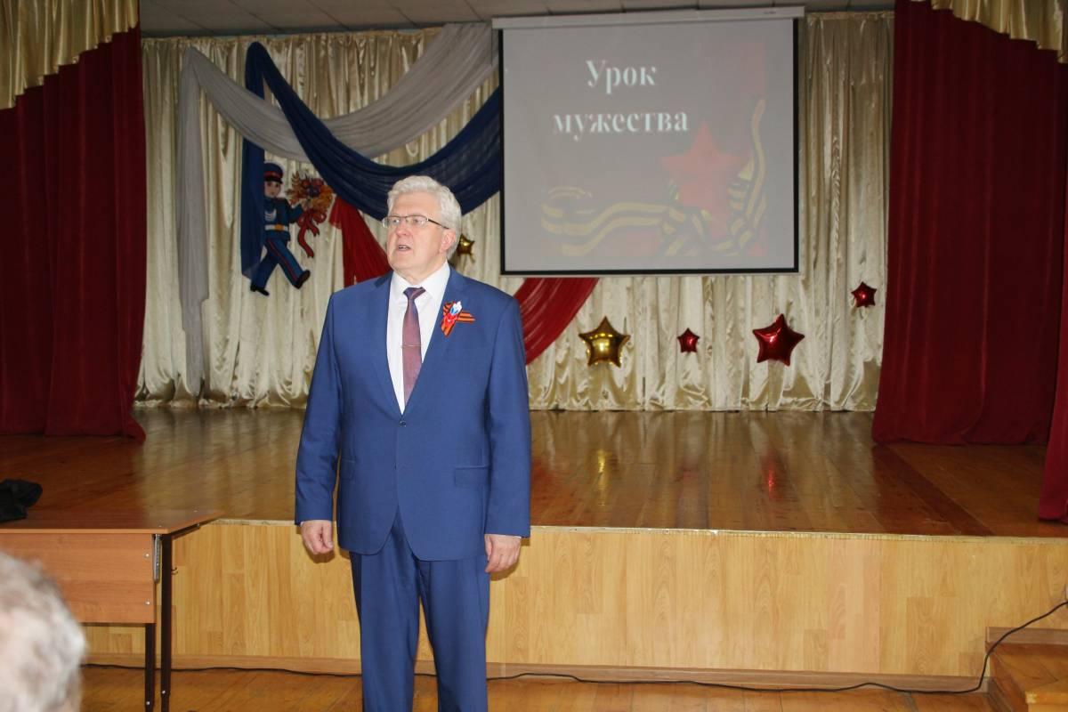 В преддверии Диктанта Победы в школе №30 Саранска прошел