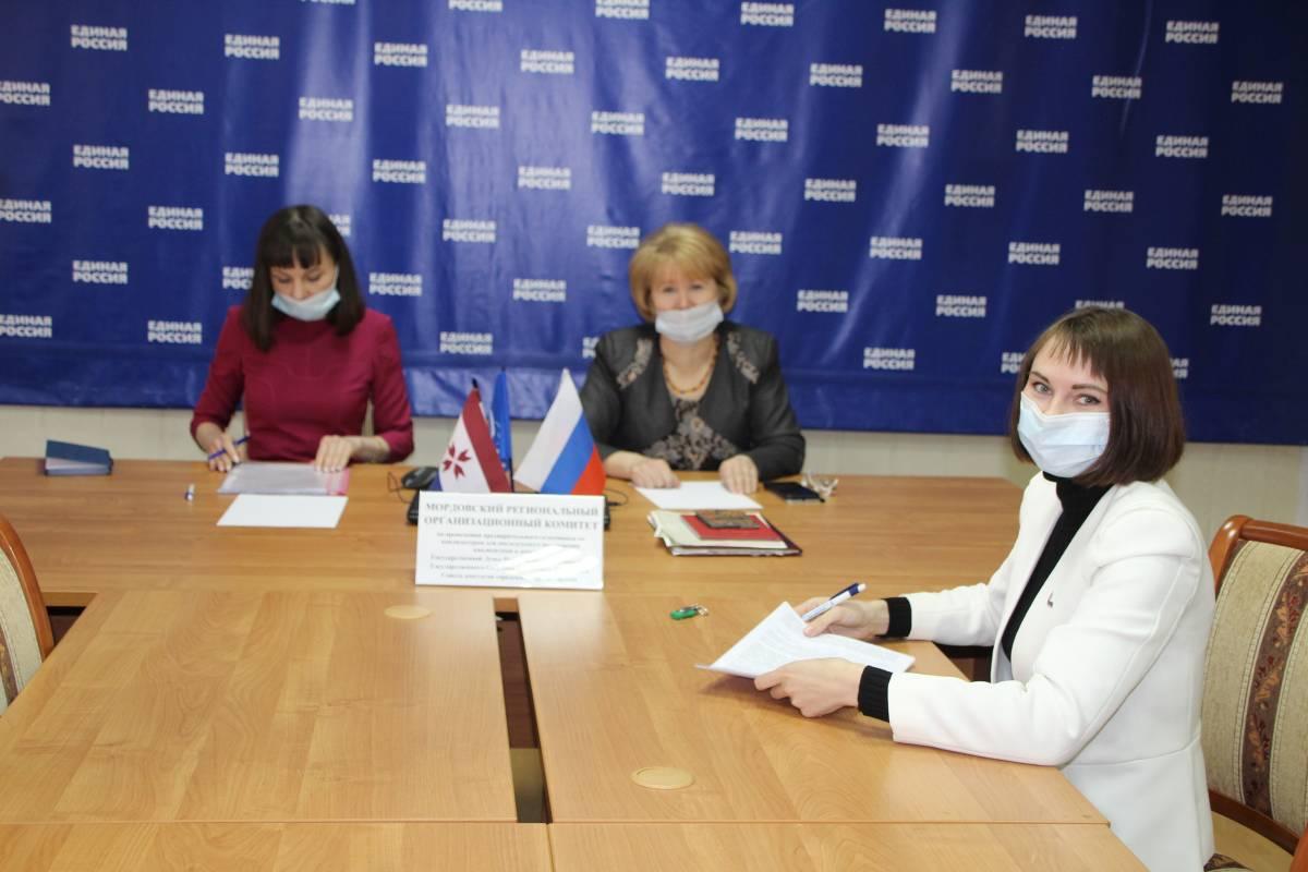 Юлия Оглоблина подала документы для регистрации в качестве участника предварительного голосования