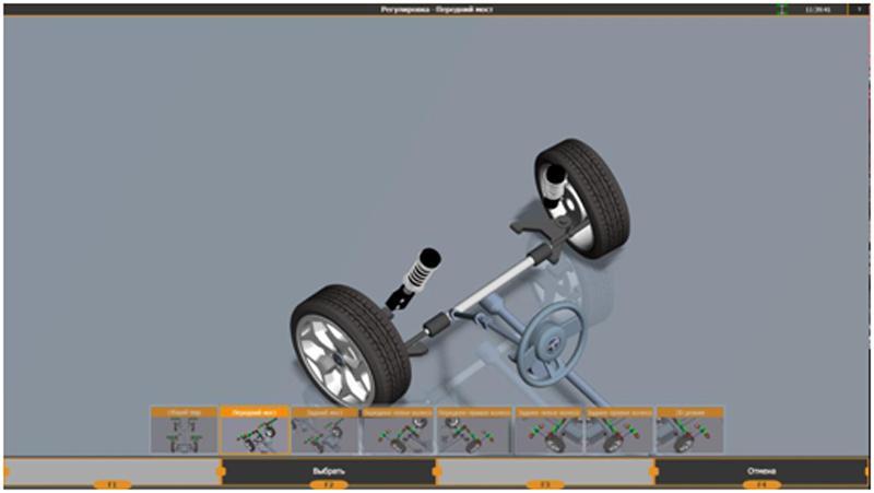 Инструкция по регулировке автомобиля на стенде Техно Вектор 7
