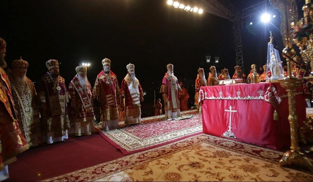 Божественная литургия в Екатеринбурге