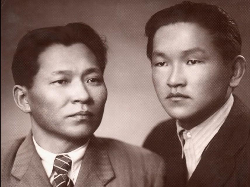 Братья Кужугет Сереевич и Калин-оол Сереевич. Фото из семейного архива