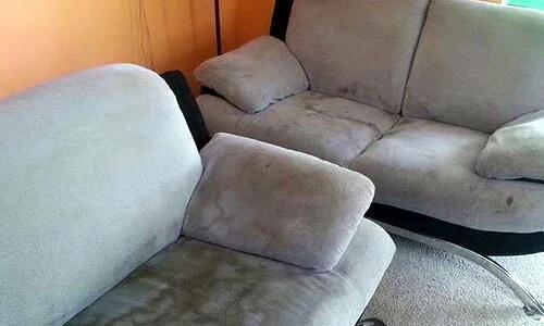 Грязная мебель