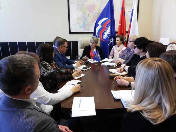 Члены общественного совета партпроекта ЕР «Здоровое будущее» определили приоритеты в работе