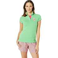 U.S. POLO ASSN.: Solid Pique Polo Shirt