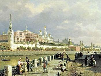 Старая Москва. Картина.