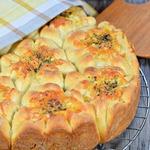 Разборный пирог с овощами