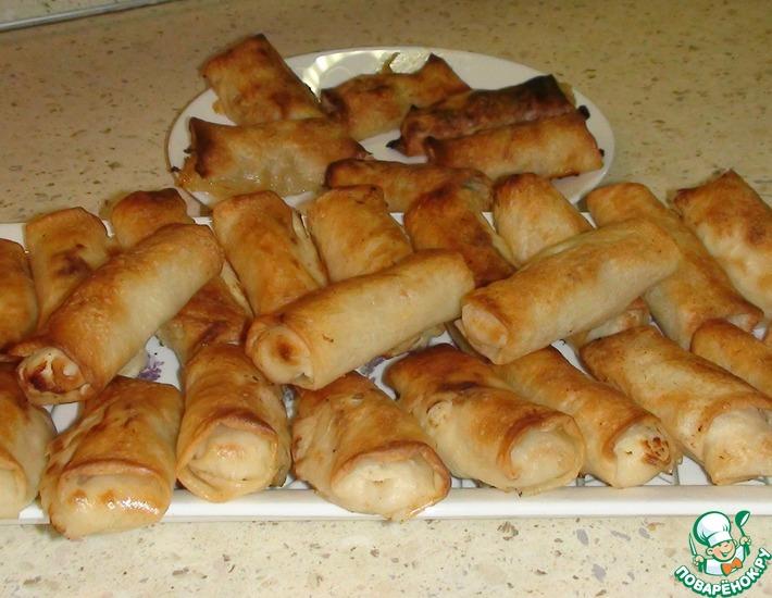 Рецепт: Тесто Брик и пирожки из него