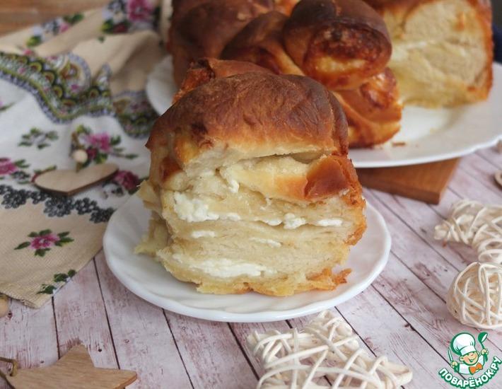 Рецепт: Обезьяний пирог с сыром