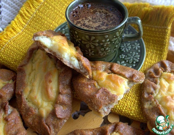 Рецепт: Ржаные калитки с картошкой