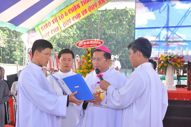 Lễ Đặt Viên Đá Đầu Tiên Xây Dựng Nhà Thờ Giáo Xứ Lô 6 - Ảnh minh hoạ 12