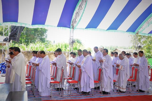 Lễ Đặt Viên Đá Đầu Tiên Xây Dựng Nhà Thờ Giáo Xứ Lô 6 - Ảnh minh hoạ 41