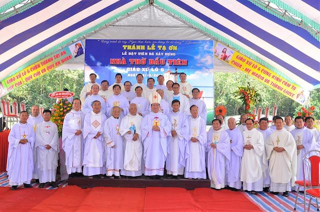 Lễ Đặt Viên Đá Đầu Tiên Xây Dựng Nhà Thờ Giáo Xứ Lô 6 - Ảnh minh hoạ 46
